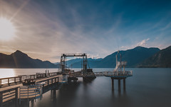 Porteau Cove Park (little_stephy0925) Tags: vancouver bc britishcolumbia canada squamish fujifilm fuji fujixt2 xt2 fujinonxf1655mm xf1655mm longexposureshot longexposure porteaucovepark pier beautifulbc explorebc bbc landscape nature silkywater longweekend