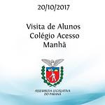 Visita de Alunos - Colégio Acesso - Manhã
