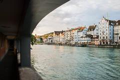 Zürich - Limmat river - Switzerland (valecomte20) Tags: nikon d5500 rivière river limmat architecture ville eau town bâtiment ciel suisse switzerland water