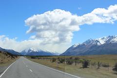 Weg zu Mt Cook