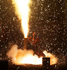 Hand-held fireworks. the final stage, explosion (3) (takashimuramatsu) Tags: handheldfireworks hand handheld fireworks firework exposion toyohashi japan nikon d500 手筒花火 豊橋 羽田八幡宮