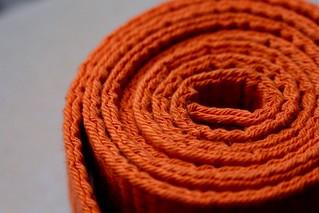 Orange belt-Spiral