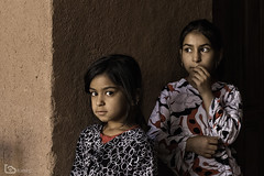 two girls (alamond) Tags: girl refugee afghan afghanistan fahraj yazd iran portrait young people female beauty canon 7d markii mkii llens ef 1740 f4 l usm alamond brane zalar
