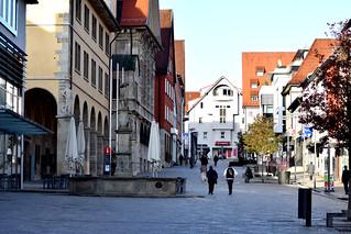 Brunnen in der Marktstrasse 'in explore'