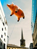 Pig Ascending (stevedexteruk) Tags: pinkfloyd floyd pig algie inflatable balloon bbc oneshow allsoulschurch church langhamplace london uk music animals publicitiy flying floating