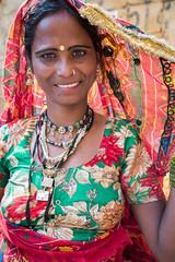 Rajasthan - Jaisalmer - Jewellry seller-3
