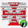 13 de octubre de 1307, la #inquisición apresa a una orden de #templarios. Son decapitados y quemados. Dando inicio al mito del #Viernes13 (Lupus Seven) Tags: viernes13 inquisición templarios