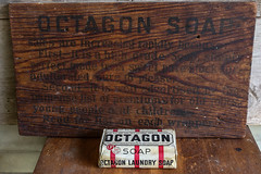 Octagon Soap & Old Ad sign