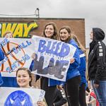 "<b>Homecoming Parade</b><br/> Luther college student assossiations and clubs marching the homecoming parade of 2017 in joy and pride. OCtober 7, 2017. Photo By Hasan Essam Muhammad<a href=""http://farm5.static.flickr.com/4485/37707494206_00ae52bc0d_o.jpg"" title=""High res"">∝</a>"
