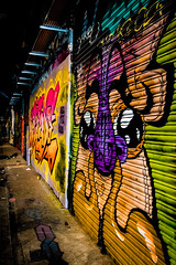 Leake Street Tunnel (morgantbphotography) Tags: morgantbphotography graffiti street art streetart london leake leakestreet leakestreettunnel colour color vibrant saturation saturated disney fine fineart fineartphotography photography photo photooftheday photograph photographer photos photoofthemonth photooftheweek photographs photoshop photographers travelphotography streetartistry streetphotography artwork work artist student inspiration inspire shoreditch camden worklife canon edit lightroom waterloo bricklane explore expressive expression expressions sticker stickers paste up pasteup poster tunnel light lights lighting dark moody gloomy wall architecture