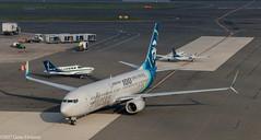 "Alaska Airlines, N248AK, 2016 Boeing B737-990(ER)(WL), MSN 62469, LN 5972, FN 248, ""Boeing 100 years strong"" (Gene Delaney) Tags: alaskaairlines n248ak 2016boeingb737990erwl msn62469 ln5972 fn248 boeing100yearsstrong"