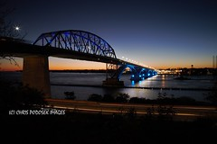 10182017_IMG_5654 (Chris Podosek) Tags: niagara river peace bridge buffalo wny wnyimages sunset timelapse