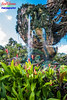 Pandora Waterfall (Scottwdw) Tags: disneysanimalkingdom floating florida flowers mountains orlando pandora travel vacation valleyofmoara waltdisneyworld waterfalls unitedstatesofamerica nikon d750 nikon1635mmf4vr outdoors hyperfocus