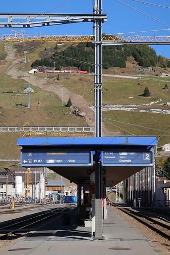 MGB - Station Andermatt