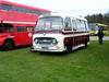 Preserved Bedford coach No. EXS 569F. (johnzebedee) Tags: transport publictransport preservation heritage detling kent johnzebedee rally busrally bedford bedfordvas coach