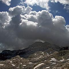Kanin high plateau (Vid Pogacnik) Tags: slovenia slovenija julianalps kanin montecanin cloud clouds storm weather weatherfront mountain outdoors landscape hiking plateau sky