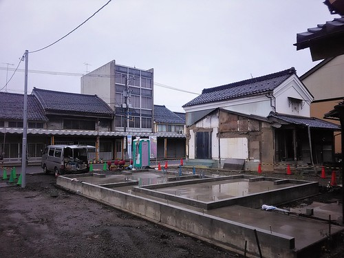 building a new house, October 20