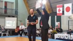 Graduation de Shihan Jeovaldo Barreto et Sensei Germán Carballo Championnat sud-américain 2017.