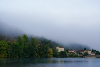 Morning fog / Brume matinale (1)