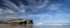 (MaRuXa fotografía) Tags: canon450d maruxa mar rocas playa mariña playacatedrales ribadeo nubes