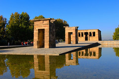 Templo de Debod (ole_G) Tags: templodedebod spain madrid reflection