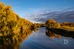 Fall Color Blues #370 (DBruner240) Tags: ngc national geographic red river nd grand forks sunrise reflections