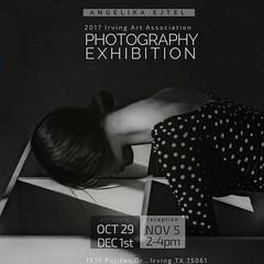 exhibition │1st Annual Juried Photography Exhibition, Irving Art Association, TX, OCT 29-DEC 1st, 2017 (RapidHeartMovement) Tags: exhibition rapidheartmovement
