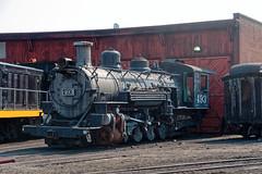 Former standard gauge 1902 K-37 non-operational loco IMG_5283 Durango & Silverton RR (Recliner) Tags: baldwin dsng drg