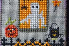 Spooky Cross Stitch (steve_whitmarsh) Tags: halloween ghost macro closeup craft macromondays