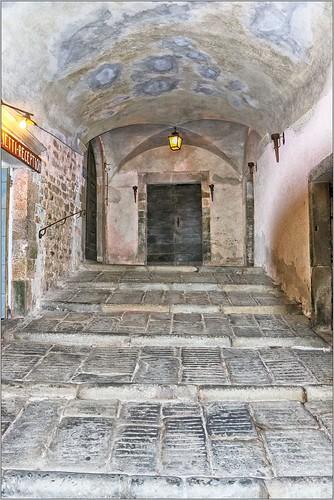 Internal Passageway, Castello Malaspina, Fosdinovo, Italy