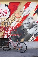 Ljubljana (Yann OG) Tags: ljubljana slovenia slovenija slovénie ville city streetart artderue tag vélo bike bicyclette couleur colorful sigma30mm graffiti
