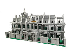 Raccoon City Police Department (Wichi007) Tags: lego residentevil raccoon city police department modular building remake