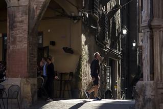 Bologna - Portico di Piazza Santo Stefano