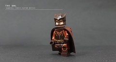 The Owl (The Ka. Lor Project) Tags: custom minifigure marvel dc superhero