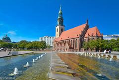 St. Marienkirche (Berlin) (correia.nuno1) Tags: berlin germany deutschland alexanderplatz alemanha stmarienkirche igrejadesantamariadeberlim