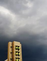 🏢 (Rusnius) Tags: berlin germany building architecture house shape darkclouds rainyday sky negativespace minimalism minimal minimalistic city phonephotography phonegraphy samsungs7edge