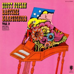 Ragtime Harpsichord (grooveisintheart) Tags: lp record vinyl groovy mod graphicdesign vintage albumcover 1973