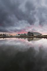 MAST POND (Mark John Nepomuceno) Tags: pond reflection sunst mirror moody light shadow dockyard chatham