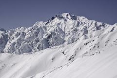 Japan Alps (robertdownie) Tags: mountains winter cold blue sky slopes backcountry clear day crisp rugged apline alps japan honshu hakuba