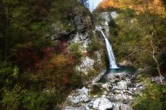 Valle di Ledro (giannipiras555) Tags: cascata acqua autunno rocce alberi colori