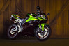 Connie Lightpaint (adampichler) Tags: motorcycle honda lightpaint night flashlight sportbike supersport