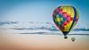 Hot air balloons at sunrise (Vironevaeh) Tags: abq albuquerque albuquerqueballoonfiesta albuquerqueinternationalballoonfiesta aviation balloon balloonfiesta balloons colorful hotairballoon hotairballoons newmexico sky sunrisehotairballoon