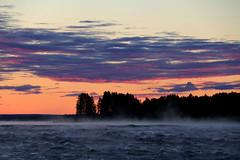 Kukkolaforsen (Elisabeth Aurora V.) Tags: sunrise river sweden kukkola kukkolaforsen nature