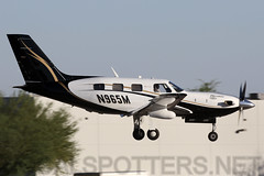 N965M (SoCalSpotters) Tags: n965m piper pa46 socalspotters ksdl scottsdale