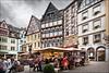cochem (heavenuphere) Tags: cochem cochemzell rheinlandpfalz rhinelandpalatinate deutschland germany europe historic architecture timber framing timbered construction building market square terrace 24105mm