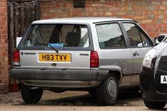 H83 TVV (Nivek.Old.Gold) Tags: 1990 volkswagen polo country 3door wayside miltonkeynes 1043cc
