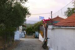 IMG_0160 (Sophia Nebel) Tags: greece sunset flag alley summer