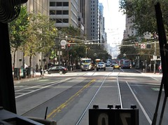 San Francisco, California (Jasperdo) Tags: sanfrancisco california publictransport muni vintagestreetcar streetcar trolley tram marketstreet fline