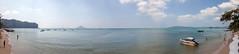 All of the Sea - _TNY_1721P7 (Calle Söderberg) Tags: canon canon5dmkii canoneos5dmarkii tamron tamronafsp247028divcusd tamronsp2470mmf28divcusd 2470 panorama krabi aonang thailand beach speedboat andamansea water sky islands longtail ocean bay sand f13 5d2