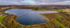 Prescot Reservoir (Steve Samosa Photography) Tags: reservoir prescot water lake landscape panoramic dronecamera drone drones aerial aerialview knowsley england unitedkingdom gb